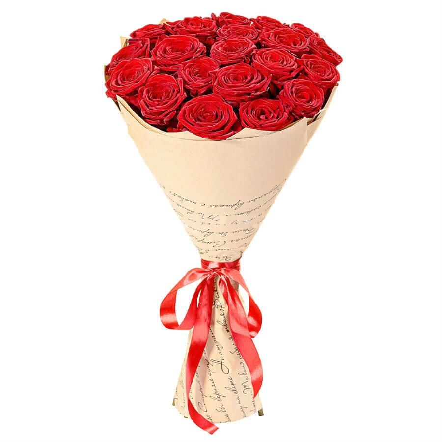 21 элитная красная роза доставка букетов в хмельницком